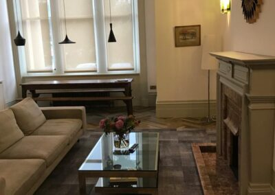 Living Room End of tenancy cleaning Palmeira Square Hove
