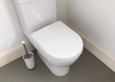 After cleaning Western Rd Lewes toilet
