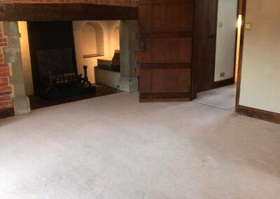 living room end of tenancy cleaning Polegate