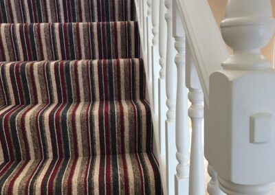 staircase after builders cleaning Haywards Heath