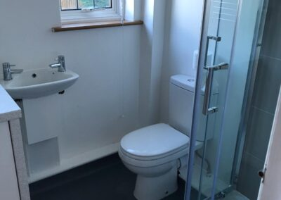 toilet after builders cleaning Haywards Heath
