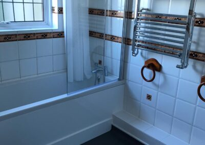 bathroom after builders cleaning Haywards Heath