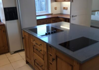 kitchen after builders cleaning Haywards Heath