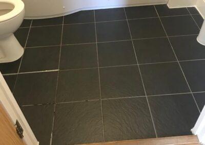 end of tenancy lewes bathroom floor